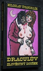 náhled knihy - Draculův zlověstný doušek