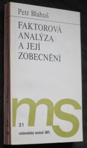 náhled knihy - Faktorová analýza a její zobecnění