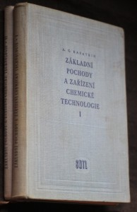 náhled knihy - Základní pochody a zařízení chemické technologie : Celost. vysokoškolská učebnice. 1.-2. díl