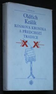 náhled knihy - Kosmova kronika a předchozí tradice