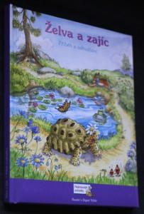 náhled knihy - Želva a zajíc : příběh o odhodlání