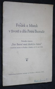 náhled knihy - Frýdek a Místek v životě a díle Petra Bezruče