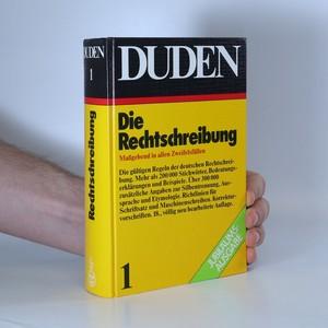 náhled knihy - Die Rechtschreibung