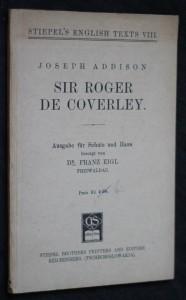 náhled knihy - Sir Roger de Coverley