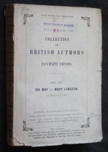 náhled knihy - Collection of British authors