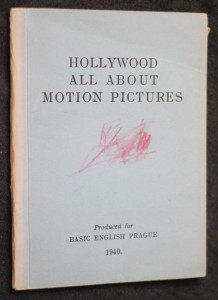 náhled knihy - Hollywood all about motion picture