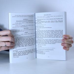 antikvární kniha Dokumenty sekulárního františkánského řádu (kniha nemá tiráž), 2008