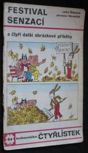 náhled knihy - Čtyřlístek č. 64 - Festival senzací