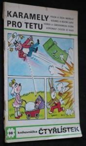 náhled knihy - Čtyřlístek č. 98 - Karamely pro tetu