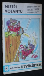 náhled knihy - Čtyřlístek č. 91 - Mistři volantu