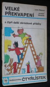 náhled knihy - Velké překvapení, [Čtyřlískek: Obrázkové příběhy pro děti] č. 70