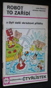 náhled knihy - Čtyřlístek č. 73 - Robot to zařídí