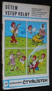 náhled knihy - Dětem vstup volný, č. 76