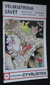 náhled knihy - Velmistrova závěť : [Obr. příběhy pro děti], č. 157