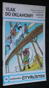 náhled knihy - Vlak do Oklahomy : [Obrázkové příběhy pro děti], č. 158