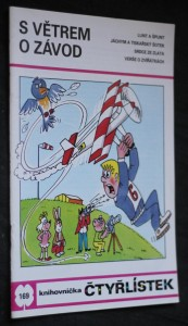 náhled knihy - S větrem o závod : [Obrázkové příběhy pro děti], č. 169