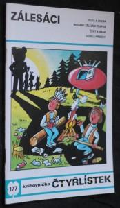 náhled knihy - Zálesáci : [Obrázkové příběhy pro děti], č. 177