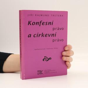 náhled knihy - Konfesní právo a církevní právo (vyznačené pasáže, viz foto)