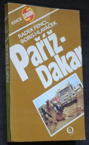 náhled knihy - Paříž-Dakar