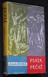 náhled knihy - Piata pečať : Román zo Španielska z čias inkvizície