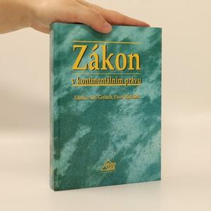 náhled knihy - Zákon v kontinentálním právu
