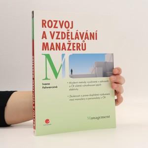 náhled knihy - Rozvoj a vzdělávání manažerů