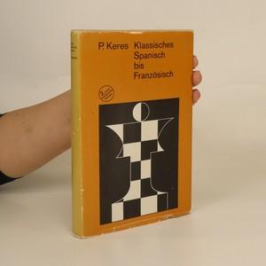 náhled knihy - Klassisches Spanisch bis Franzosisch