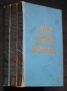 náhled knihy - Dílo Jiřího Wolkera 3 svazky