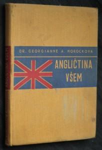 náhled knihy - Angličtina všem : základy mluvnice : praktická konversace : slovníček česko-anglický a anglicko-český
