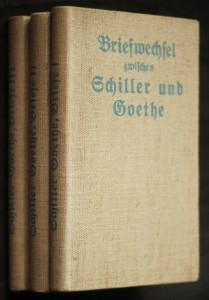 náhled knihy - Briefwechsel zwischen Schiller und Goethe. 3 svazky