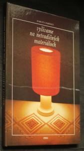 náhled knihy - Vyšívame na netradičných materiáloch