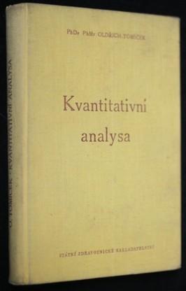 náhled knihy - Kvantitativní analysa