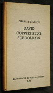 náhled knihy - David Copperfield's schooldays