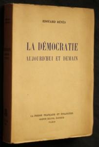 náhled knihy - La démocratie aujourd'hui et demain