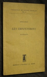 náhled knihy - Les confessions
