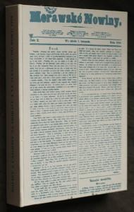 náhled knihy - Noviny a časopisy na Moravě a ve Slezsku do roku 1918 : literatura a prameny, sbírky, bibliografie
