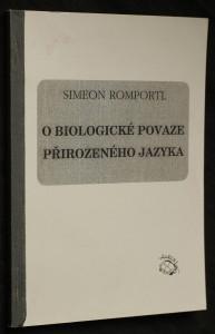 náhled knihy - O biologické povaze přirozeného jazyka