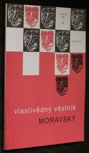 náhled knihy - Vlastivědný věstník moravský, ročník LIII, č. 3