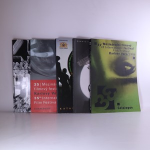 náhled knihy - Mezinárodní filmový festival Karlovy Vary. Kalaog (5 svazků, 1996, 1997, 1998, 2000, 2010)