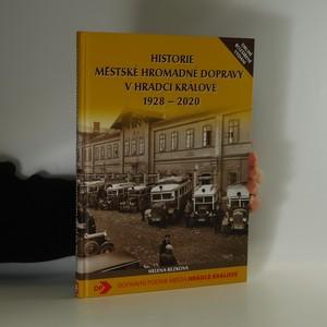 náhled knihy - Historie městské hromadné dopravy v Hradci Králové 1928-2020