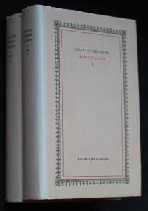 náhled knihy - Dombey a syn. I.-II.