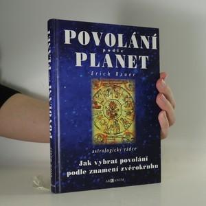 náhled knihy - Povolání podle planet