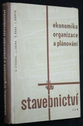 náhled knihy - Ekonomika, organizace a plánování stavebnictví : vysokoškolská učebnice