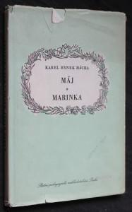 náhled knihy - Máj ; Marinka : [mimočítanková četba pro školy odb. a pedagog.]