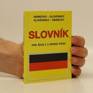 náhled knihy - Nemecko-slovenský, slovensko-nemecký slovník