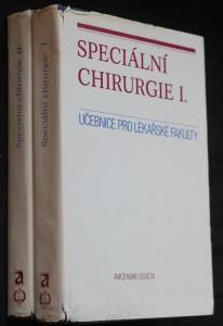 náhled knihy - Speciální chirurgie I.-II. díl