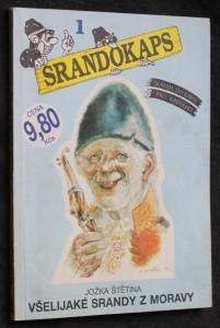 náhled knihy - Všelijaké srandy z Moravy
