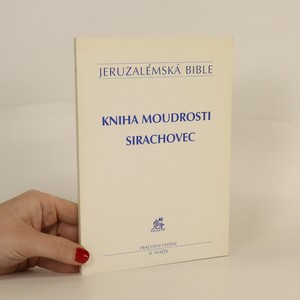 náhled knihy - Kniha moudrosti, Sirachovec. Jeruzalémská bible, IX. svazek