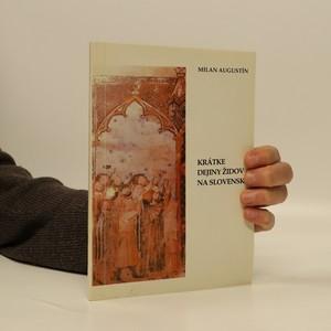 náhled knihy - Krátke dejiny Židov na Slovensku