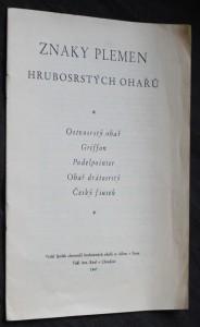 náhled knihy - Znaky plemen hrubosrstých ohařů